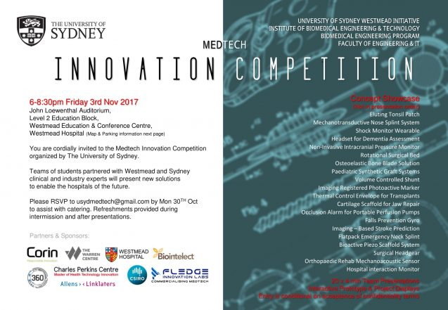 MEDTECH INNOVATION COMPETITION