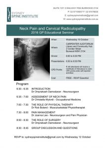 Neck Pain and Cervical Radiculopathy
